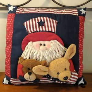 Americana uncle Sam 3D Pillow